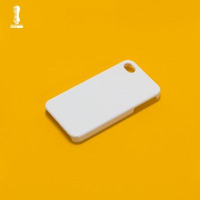 Cover neutre sublimazione 3D iPhone 4 e 4S