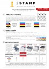 Istruzioni Stampante A4 Oki Pro 7411 WT toner bianco per transfer stampa t-shirt