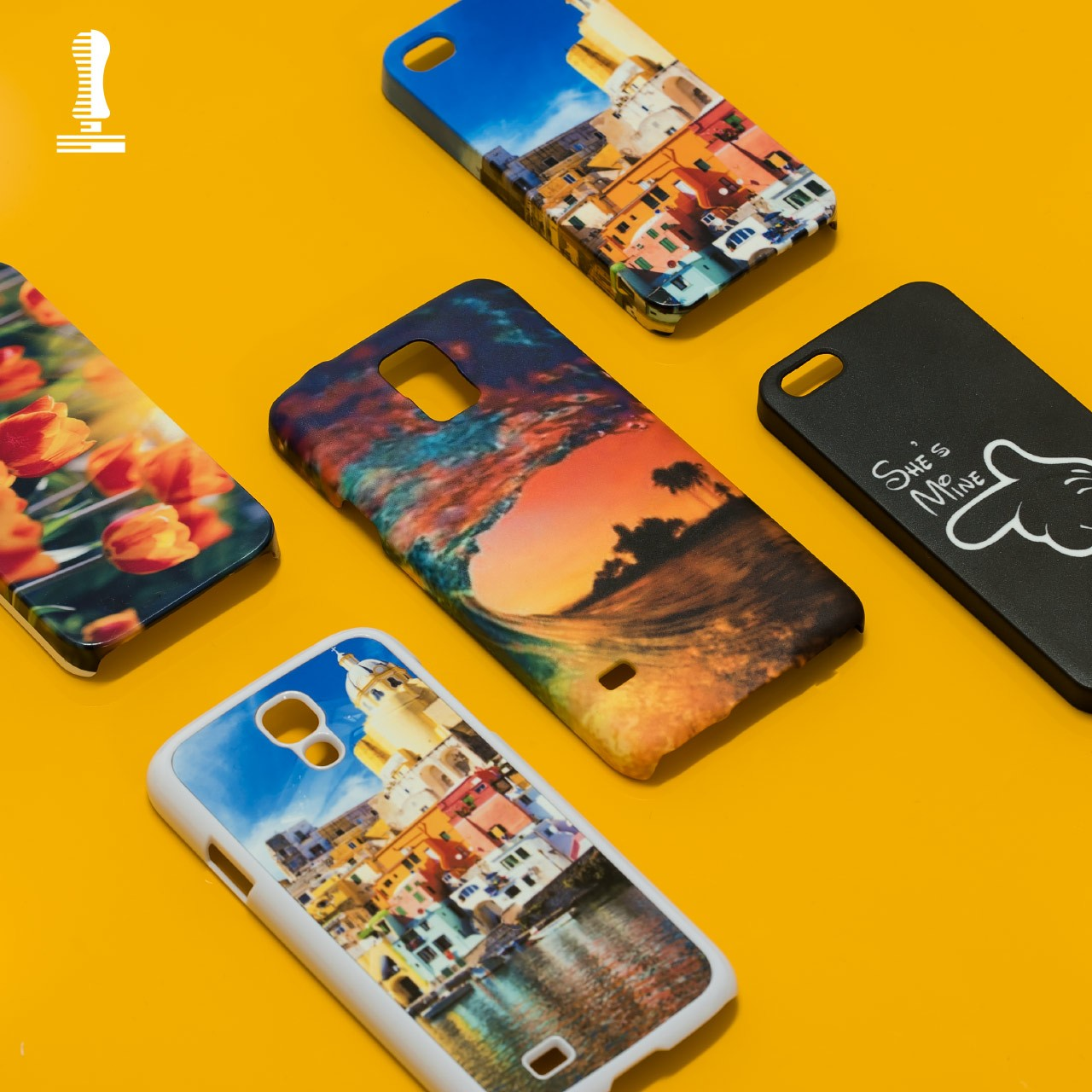 Set accessori per stampa cover 3D - 30 modelli - 2Stamp