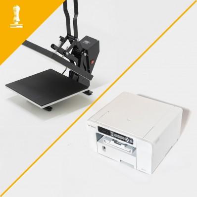 Kit pour imprimer des images sur des chemises en polyester