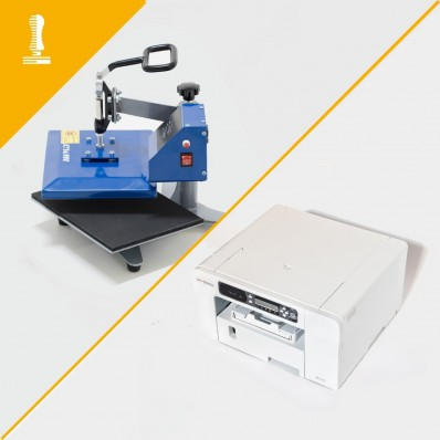 Basic machinery 2d cover printing