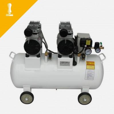 Geräuschloser Kompressor 65 Liter