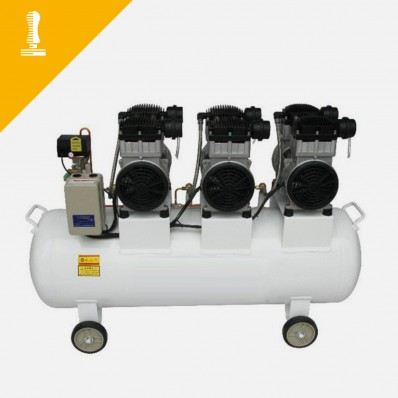 Geräuschloser Kompressor 140 Liter