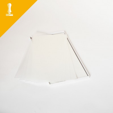 Fogli transfer autoscontornanti per tessuti chiari A4