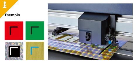 Esempi lettura ottica Graphtec FC9000